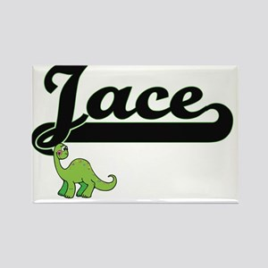 Jace Classic Name Design with Dinosaur Magnets
