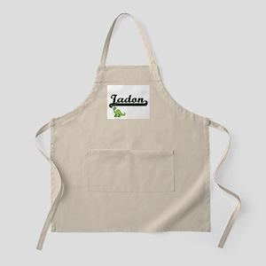 Jadon Classic Name Design with Dinosaur Apron
