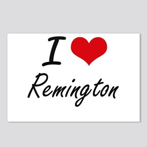 I Love Remington Postcards (Package of 8)