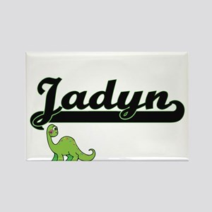 Jadyn Classic Name Design with Dinosaur Magnets