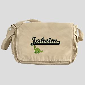 Jaheim Classic Name Design with Dino Messenger Bag