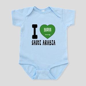 I Love Saudi Arabia Infant Bodysuit
