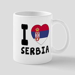 I Love Serbia Mug