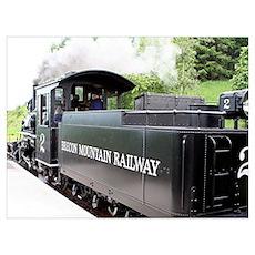 Brecon Mountain Railway, Wales Poster