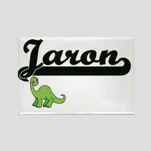 Jaron Classic Name Design with Dinosaur Magnets