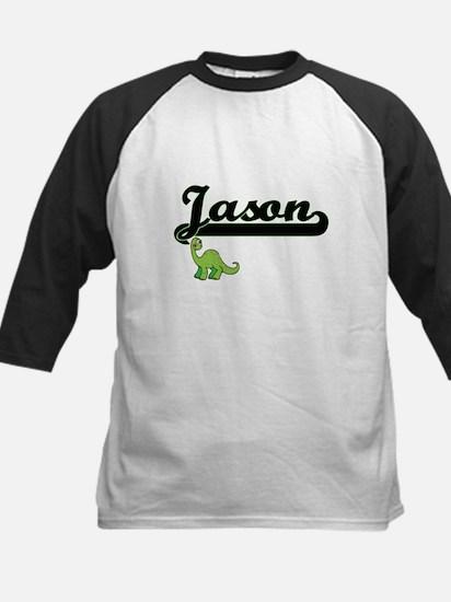 Jason Classic Name Design with Din Baseball Jersey