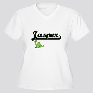 Jasper Classic Name Design with Plus Size T-Shirt