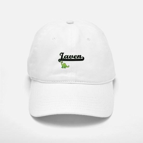 Javen Classic Name Design with Dinosaur Baseball Baseball Cap