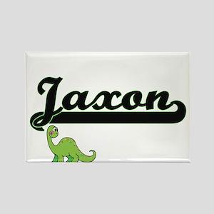 Jaxon Classic Name Design with Dinosaur Magnets