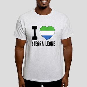 I Love Sierra Leone Light T-Shirt