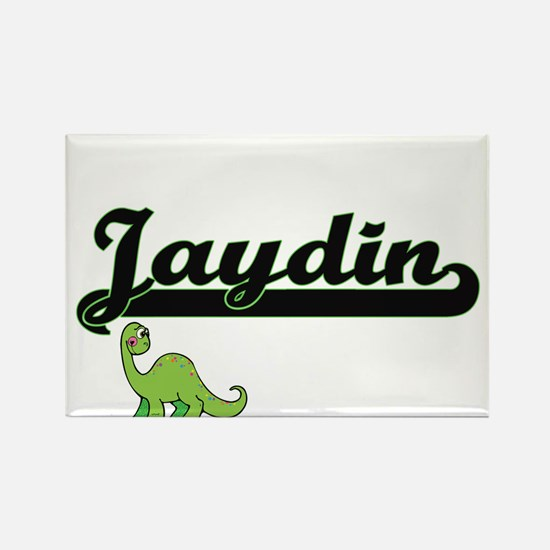 Jaydin Classic Name Design with Dinosaur Magnets