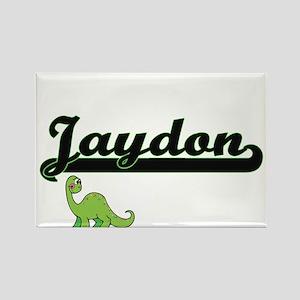 Jaydon Classic Name Design with Dinosaur Magnets