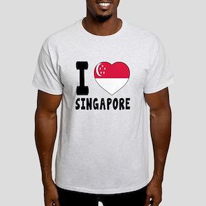 I Love Singapore Light T-Shirt