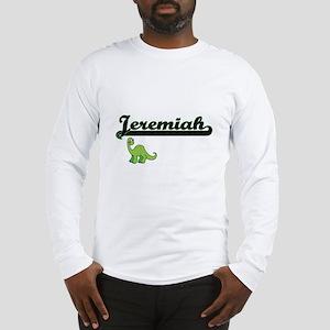 Jeremiah Classic Name Design w Long Sleeve T-Shirt