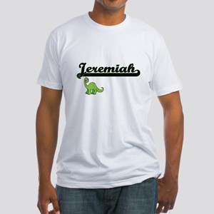 Jeremiah Classic Name Design with Dinosaur T-Shirt