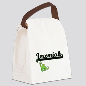 Jeremiah Classic Name Design with Canvas Lunch Bag