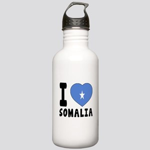 I Love Somalia Stainless Water Bottle 1.0L