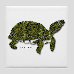 Stone Turtle Tile Coaster