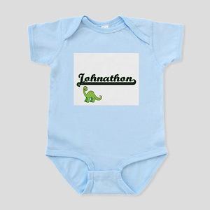 Johnathon Classic Name Design with Dinos Body Suit