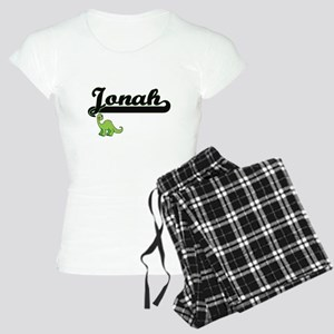 Jonah Classic Name Design w Women's Light Pajamas