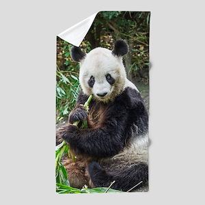 Panda Bear 1 Beach Towel