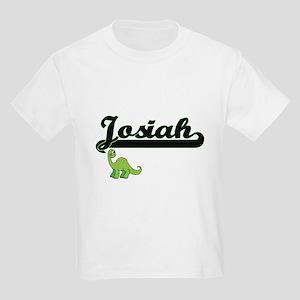 Josiah Classic Name Design with Dinosaur T-Shirt