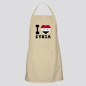 I Love Syria Apron