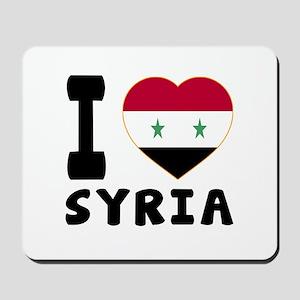 I Love Syria Mousepad
