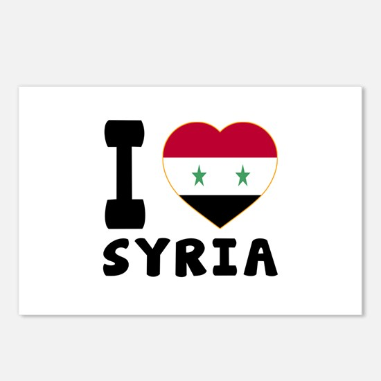 I Love Syria Postcards (Package of 8)