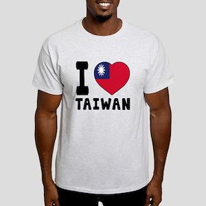I Love Taiwan Light T-Shirt