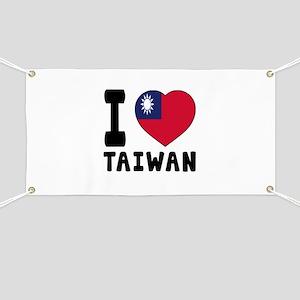 I Love Taiwan Banner
