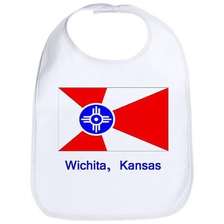 Wichita KS Flag Bib