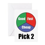 Good Fast Cheap Greeting Cards (Pk of 20)