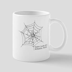 Spiders: Nope Mugs