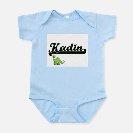 Kadin Classic Name Design with Dinosaur Body Suit