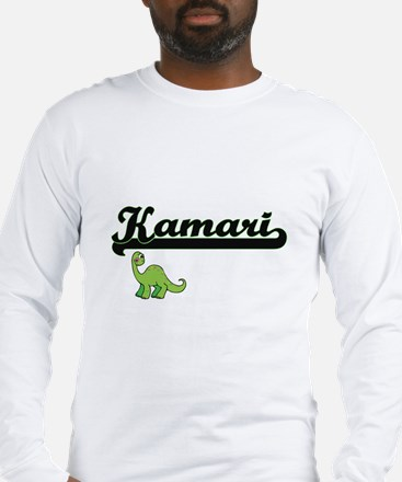 Kamari Classic Name Design wit Long Sleeve T-Shirt