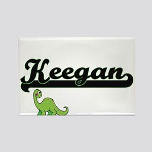 Keegan Classic Name Design with Dinosaur Magnets