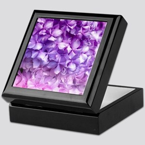Hydrangea Rainbow Keepsake Box
