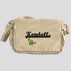 Kendall Classic Name Design with Din Messenger Bag