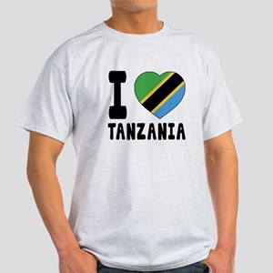 I Love Tanzania Light T-Shirt