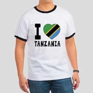 I Love Tanzania Ringer T