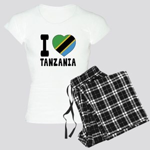 I Love Tanzania Women's Light Pajamas