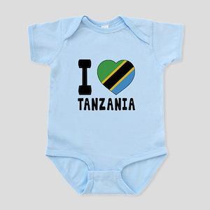 I Love Tanzania Infant Bodysuit