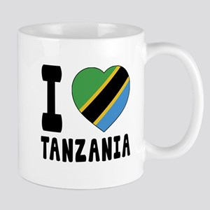 I Love Tanzania Mug