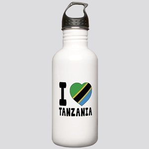 I Love Tanzania Stainless Water Bottle 1.0L