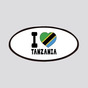 I Love Tanzania Patch