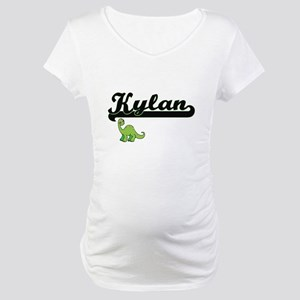 Kylan Classic Name Design with D Maternity T-Shirt