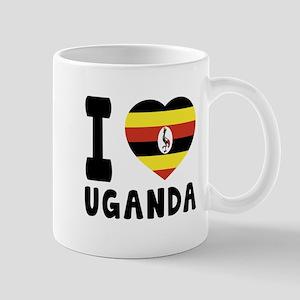I Love Uganda Mug