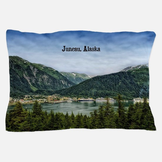 Juneau, Alaska landscape photo Pillow Case