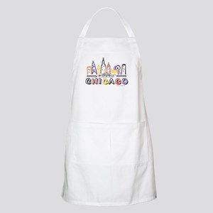 Chicago Fun Skyline Apron